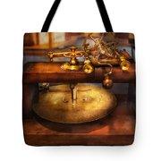 Clocksmith - The Gear Cutting Machine  Tote Bag