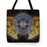 Clockwork Butterfly Tote Bag
