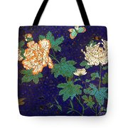 Cloisonee' Dragonfly Tote Bag