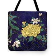 Cloisonee' Flower Tote Bag