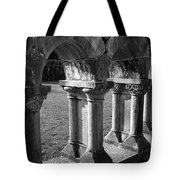 Cloister At Cong Abbey Cong Ireland Tote Bag