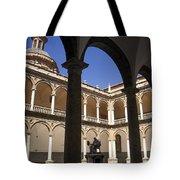Cloister Real Colegio Seminario Del Corpus Christi Tote Bag