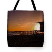 Close Of The Day At Newport Beach Tote Bag