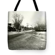 Close To Asphalt Tote Bag