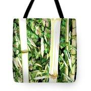 Close Up Big Fresh Bamboo Tote Bag