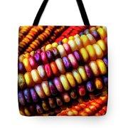 Close Up Indian Corn Tote Bag