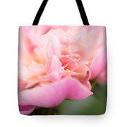 Close Up Macro Peony Flower Tote Bag