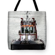 Close Up Of A Tugboat In Venice Harbor Tote Bag