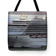 Close Up Of Diamond Princess Tote Bag