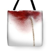 Close-up Of Droplets Of Water On A Tulip Tote Bag