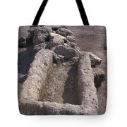 Close Up Of Excavations In The Ancient Tote Bag