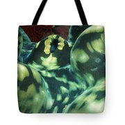 Close-up Of Giant Clam, Tridacna Gigas Tote Bag