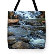 Close Up Of Reedy Falls In South Carolina Tote Bag
