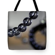 Close-up View Of A String Of Beads Tote Bag