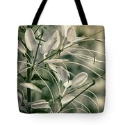 Close Up Wild Flower Tote Bag