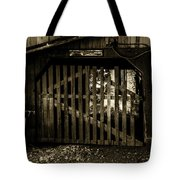 Closed Barn Tote Bag