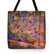 Closed Butterfly Door Tote Bag