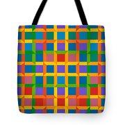 Closed Quadrilateral Lattice Tote Bag