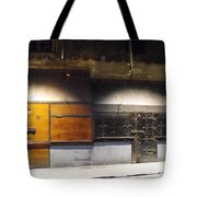 Closed Shop Stall Doors Tote Bag