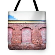 Closed Windows Tote Bag