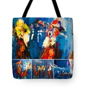 Closeup All Out Tote Bag