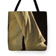 Closeup Detail Of Lincoln Memorial Tote Bag