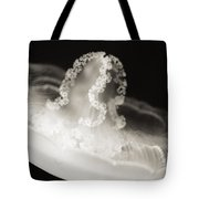 Closeup Jellyfish Tote Bag