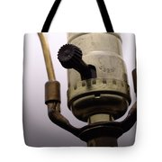 Closeup Lampswitch Tote Bag