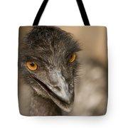 Closeup Of A Captive Emu Tote Bag