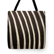 Closeup Of A Grevys Zebras Coat Equus Tote Bag