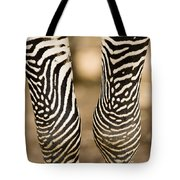 Closeup Of A Grevys Zebras Legs Equus Tote Bag