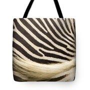 Closeup Of A Grevys Zebras Rear End Tote Bag