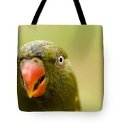 Closeup Of A Scaly-breasted Lorikeet Tote Bag