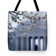Closeup Of Cherry Blossoms Tote Bag