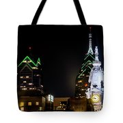Closeup Of City Hall Philadelphia Tote Bag