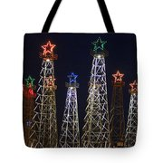 Closeup Of Kilgore Texas Derricks Tote Bag