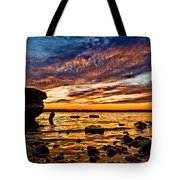 Closing Colors Tote Bag