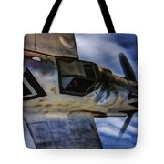 Closing In On A Straggler - Oil Tote Bag