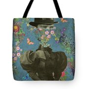 Clothed, Because You Are Watching Me. Tote Bag