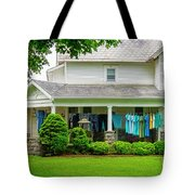 Clothes On The Front Porch Tote Bag
