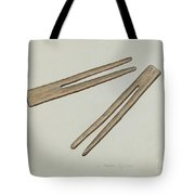 Clothes Pins Tote Bag