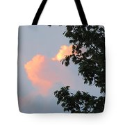 Cloud And Blue Sky Tote Bag