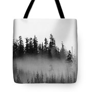 Cloud And Trees  Tote Bag