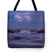 Cloud And Wave Seaside New Jersey Tote Bag