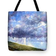 Cloud Burst Ireland Tote Bag