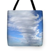 Cloud By Day Tote Bag