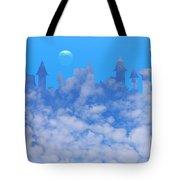 Cloud Castle Tote Bag