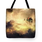 Cloud Castle Tote Bag