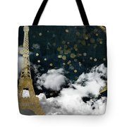 Cloud Cities Paris Tote Bag