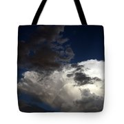 Cloud Collide Tote Bag